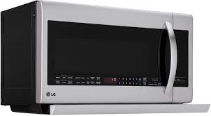 Lg Microwave Toaster Lg Stainless Over The Range Microwave Oven Lmhm2237st
