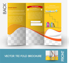 brochure templates adobe illustrator brochure template free vector in adobe illustrator ai ai