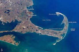 cape cod carved by glaciers
