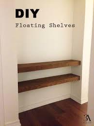 Build Floating Shelves by Diy Floating Shelves U2014 3a Design Studio