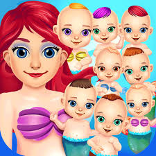 mermaid salon doctor kids games free app store