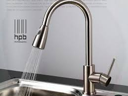 sink u0026 faucet bennington ss handle high arc kitchen sink faucets