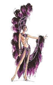 Las Vegas Showgirl Halloween Costume Jubilee Las Vegas Costumes Bob Mackie Bobs