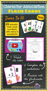 free character association flash cards pk1homeschoolfun