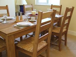 Rattan Kitchen Furniture by Dining Room Wooden Rattan Dining Chairs For Vintage Dining Room Decor