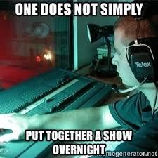 Light Show Meme - light board operator meme generator