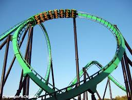 Goldrusher Six Flags Magic Mountain Six Flags Magic Mountain Riddler U0027s Revenge Rrv Oblique1 Jpg