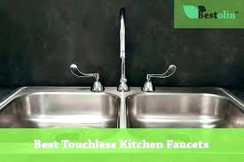 kitchen faucets for less touch sensor faucet kitchen top 5 best faucets are they totally less