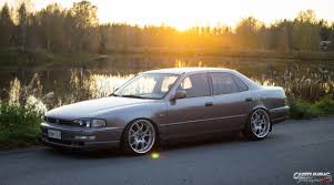 stanced supra stanced toyota camry vx10