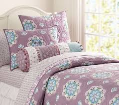 Pottery Barn Kids Quilts Pottery Barn Kids Brooklyn Twin Quilt Std Sham New Lavender