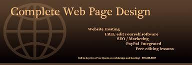 web page design web page design custom website design