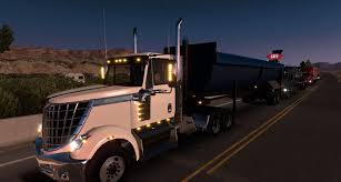 international trucks ai traffic international lonestar mod american truck simulator