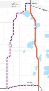 Meeker Colorado Map by Hwy 22 Litchfield Mndot