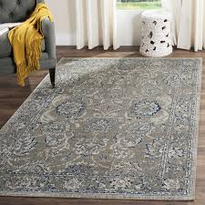 Gray Blue Area Rug Darby Home Co Harwood Cotton Gray Blue Area Rug Reviews