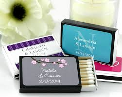 wedding favor matches wedding personalized favors the best prices and