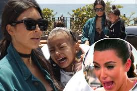 Kim Kardashian Crying Meme - poor north west cries with kim kardashian and her face looks just