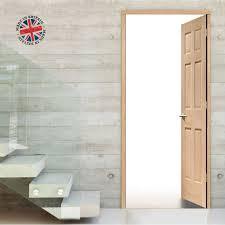 Interior Door Lining Thruframe Interior Oak Veneered Door Lining Frame Suits Single Doors