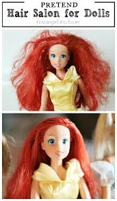 different styles or ways to fix human hair fix barbies hair housing a forest