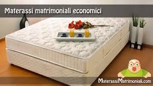 rete e materasso matrimoniale offerte migliori materassi matrimoniali economici classifica e