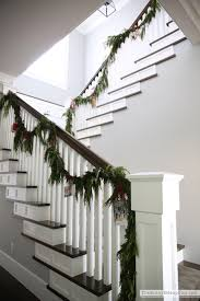 card stair garland the side up