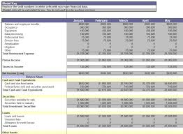 Financial Statements Templates For Excel Consolidation Report Consolidation Report Template