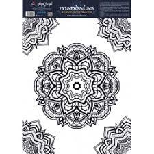 mandala circles coloring sheets angel europa