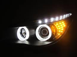 eye bmw headlights crazythegod e60 2003 2007 pre facelift 3d eye projector led