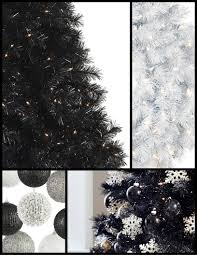 White Christmas Tree With Black Decorations Treetopia How To Decorate Your Black Tree Blog Treetopia Com