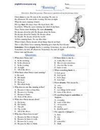 running reading comprehension short stories 3rd 4th grade