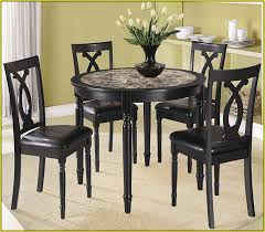 Black Round Kitchen Table Round Wood Kitchen Table And Chairs Home Design Ideas