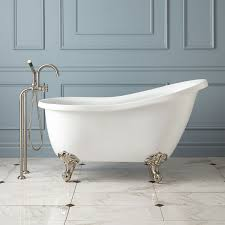 Freestanding Bathroom Accessories by Ultra Acrylic Slipper Clawfoot Tub Bathroom