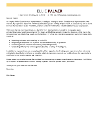 awesome collection of cover letter sample for guest service agent