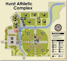 hurst map hurst athletic complex city of hurst tx