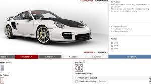 porsche 911 front view porsche 911 gt2 rs configurator launched