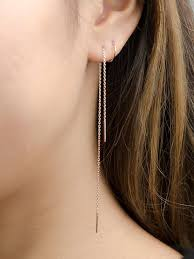 stud earrings with chain best 20 chain earrings ideas on no signup required