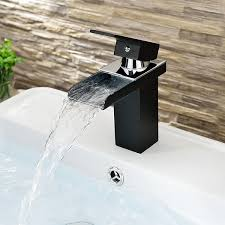Faucets Wholesale Waterfall Bathroom Sink Faucets A Work Of Art In Water System