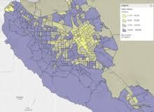 san jose ethnicity map santa clara county california