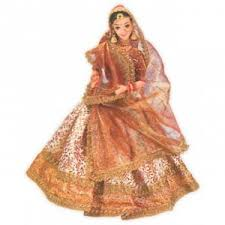 doll dress indian wedding doll 2125 a