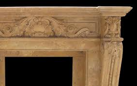 verona antique beige marble fireplace antique french marble