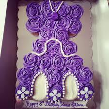 the first cupcake dress cake