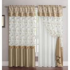 Brown Floral Curtains Floral Curtains U0026 Drapes Shop The Best Deals For Nov 2017