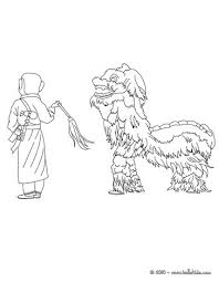chinese dragon decoration coloring pages hellokids