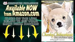 cheeky chihuahuas dog coloring book pages kids u0026 adults v2