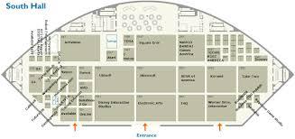 sony centre floor plan e3 2011 show floor plan in detail