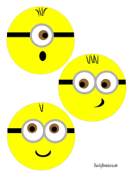 minion plate printable insert everyday parties