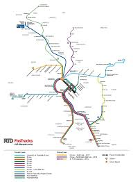 Seattle Link Rail Map Rtd Fastracks