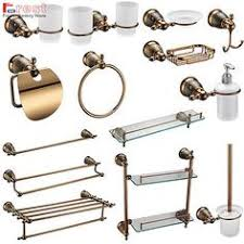 Wall Mounted Bathroom Accessories Sets by Victorian 3 Piece Bathroom Accessory Set Bathroom Accessories