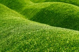 can you install artificial grass on a slope install it direct