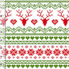 christmas pattern knit fabric be still my heart this would make the cutest raglan shirt or