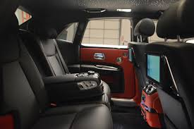 rolls royce ghost interior 2017 2017 rolls royce ghost black badge stock r422 for sale near